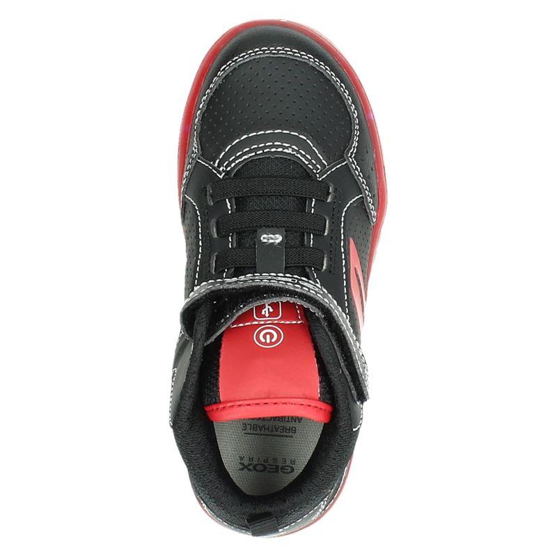 Geox Kommodor - Hoge sneakers - Zwart