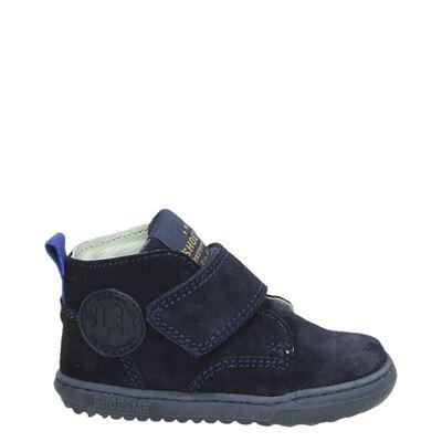 Shoesme jongens klittenbandschoenen blauw