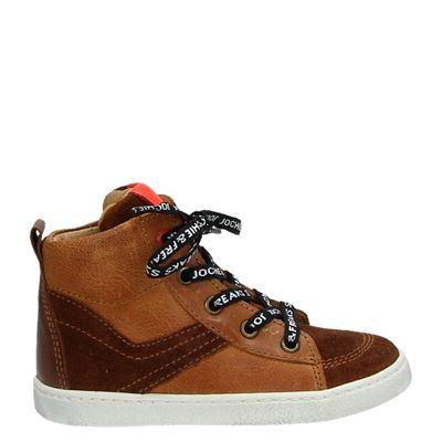 Jochie&Freaks jongens laarsjes & boots cognac