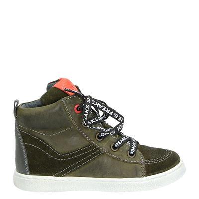 Jochie&Freaks jongens laarsjes & boots groen