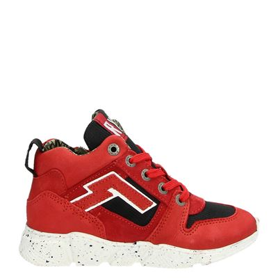 Red Rag jongens sneakers rood