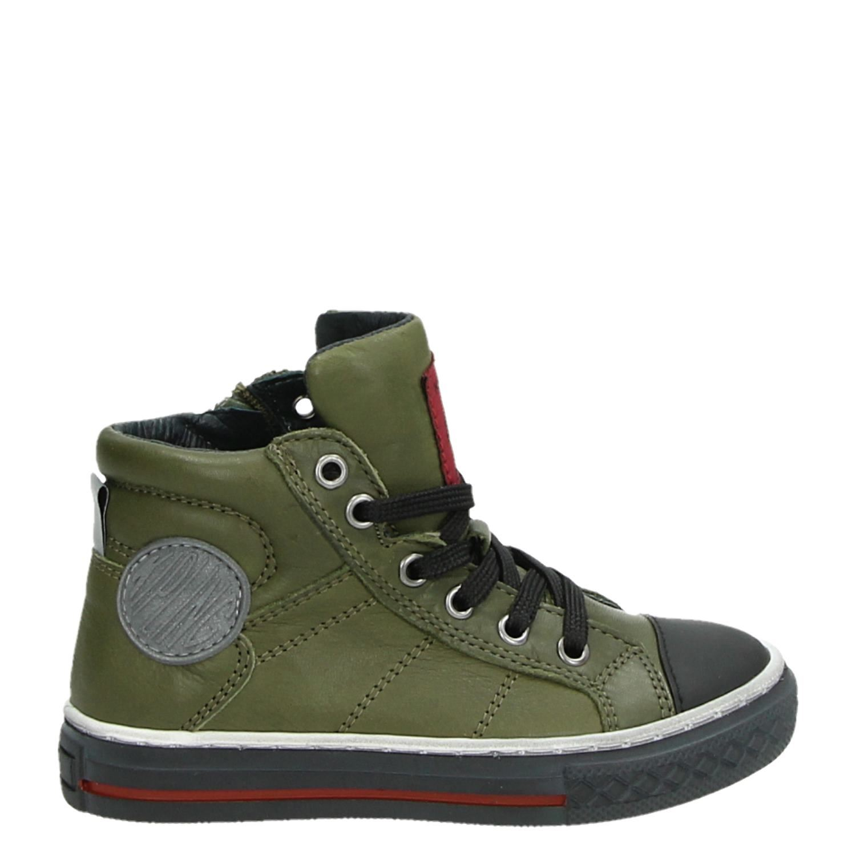 392d1c39101 Kipling Drive 1 jongens hoge sneakers groen