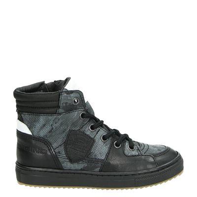 Vingino jongens laarsjes & boots zwart