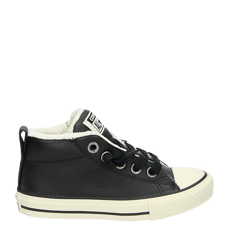 a0c48108f48 Converse All Star Street Winter jongens lage sneakers zwart