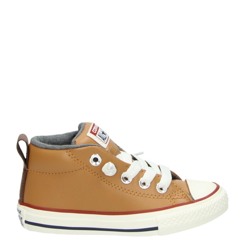 e7aa192ad35 Converse All Star Street Winter jongens lage sneakers cognac