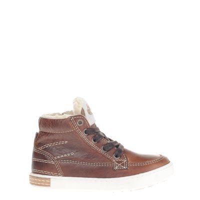 Hobb's jongens sneakers cognac