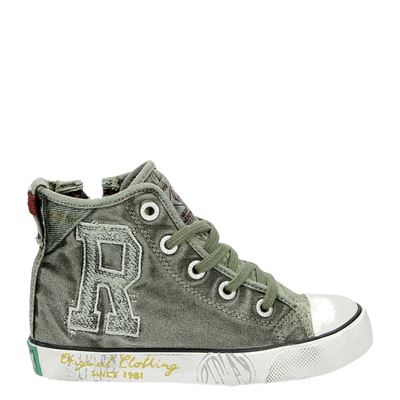 Replay jongens sneakers groen