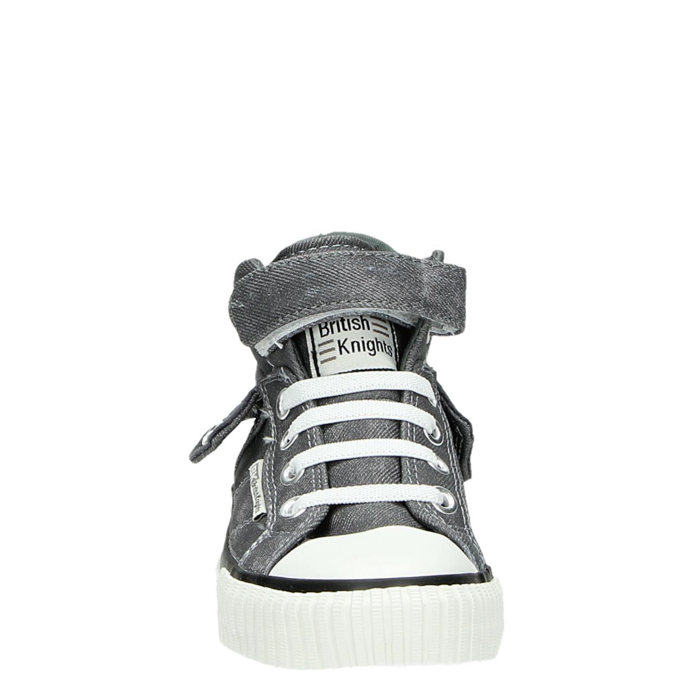 e9477f57842 British Knights Roco - Hoge sneakers - Grijs - Shoemixx.nl
