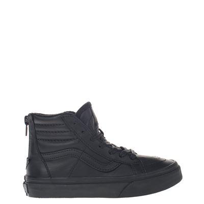 1188aa867ee Vans jongens hoge sneakers zwart