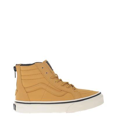 Vans jongens sneakers bruin