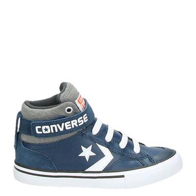 Converse jongens laarsjes & boots blauw