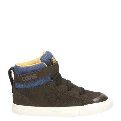 Converse jongens laarsjes & boots bruin