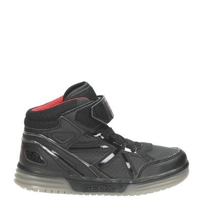 Geox jongens klittenbandschoenen zwart