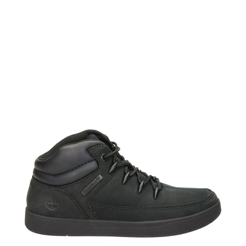 Timberland Davis Square - Hoge sneakers - Zwart