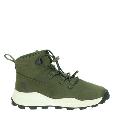 Timberland jongens sneakers kaki