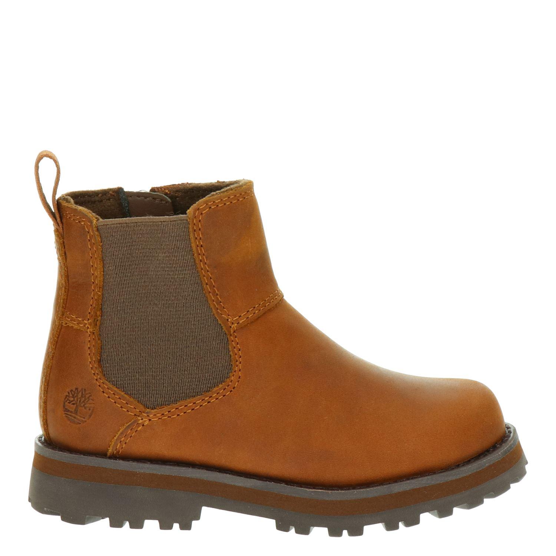 maíz idioma Horno  Timberland Courma Kid - Rits- & gesloten boots voor jongens - Cognac -  Nelson.nl