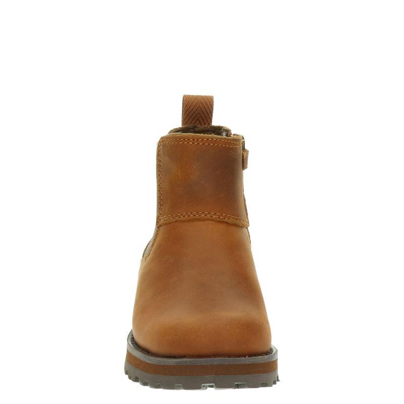 Timberland Courma Kid - Rits- & gesloten boots - Cognac