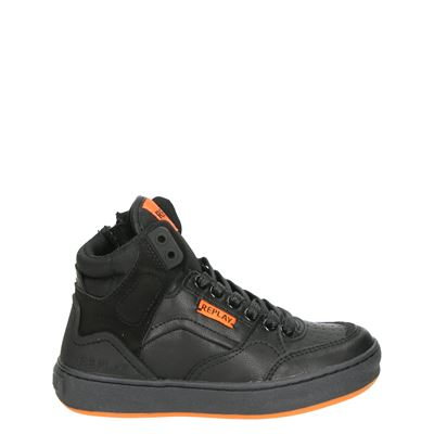 Replay jongens sneakers zwart