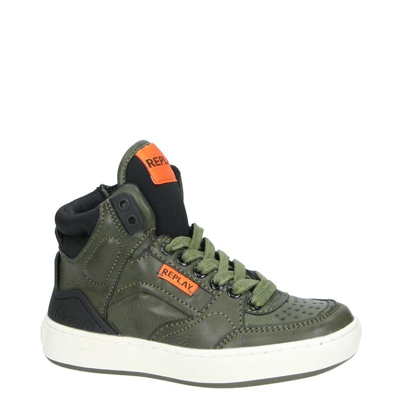 Replay Bokkai - Hoge sneakers - Groen