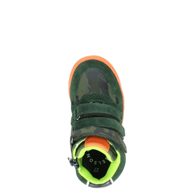 Nelson Kids - Klittenbandschoenen - Groen