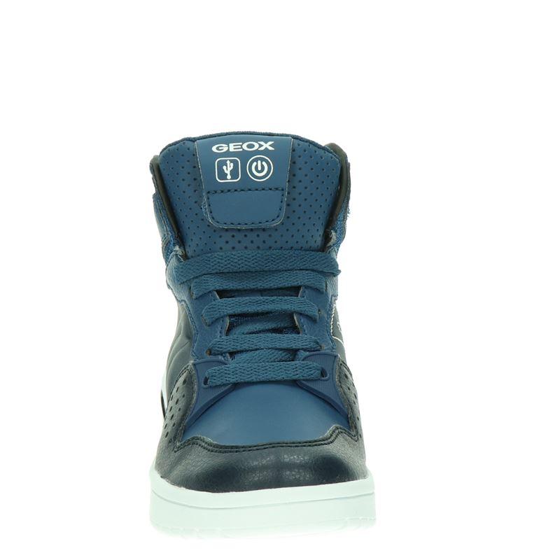 Geox XLED - Hoge sneakers - Blauw