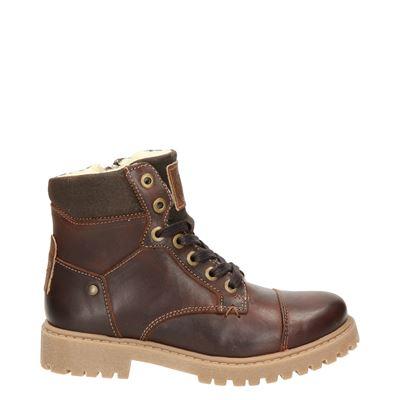 Nelson Kids jongens laarsjes & boots cognac