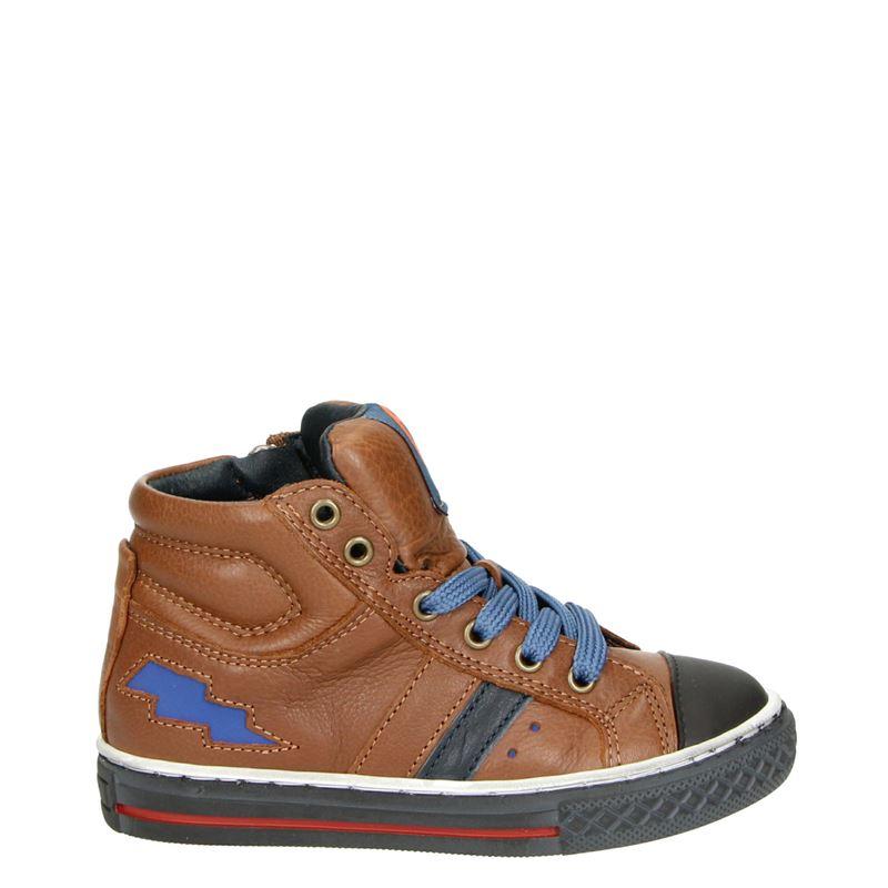 Kipling Basket 1 - Hoge sneakers - Cognac
