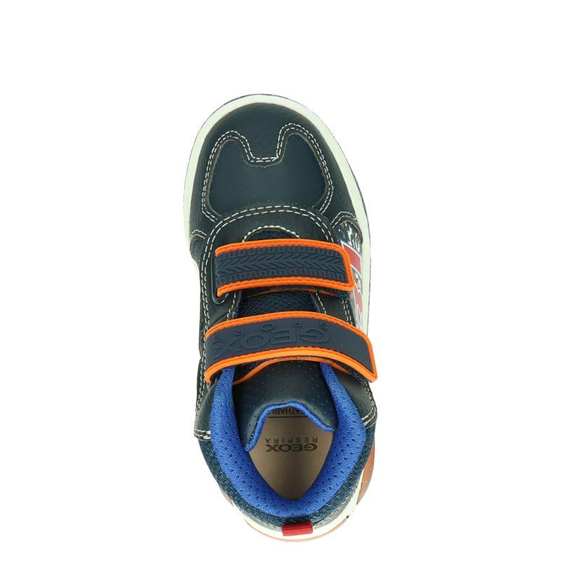 Geox Inek - Klittenbandschoenen - Blauw