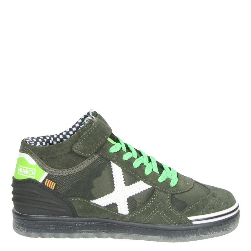 Munich - Lage sneakers - Groen