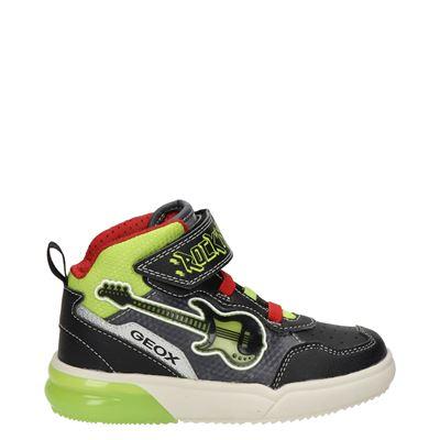 Geox Gray Boy - Hoge sneakers - Zwart