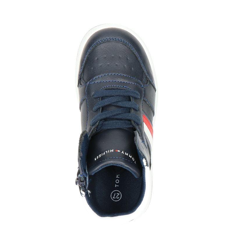 Tommy Hilfiger - Hoge sneakers - Blauw