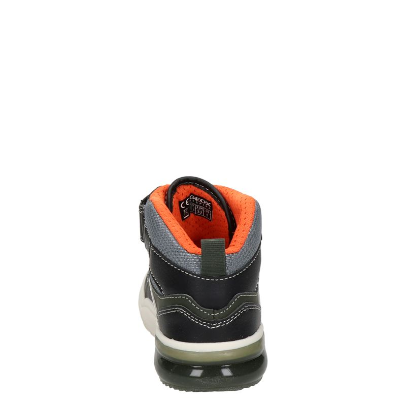 Geox Grayjay - Hoge sneakers - Zwart