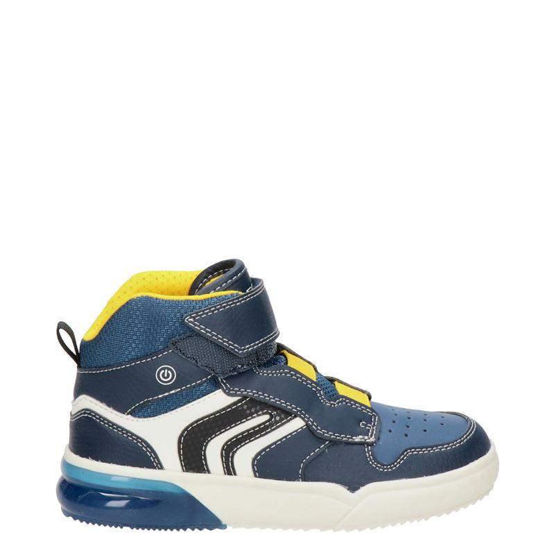 Geox Grayjay - Hoge sneakers - Blauw