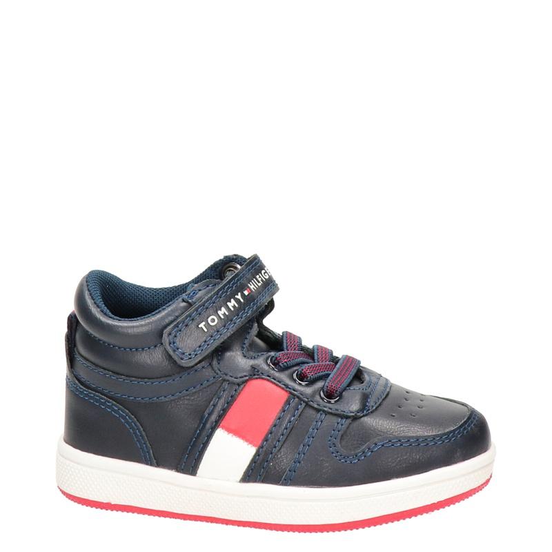 Tommy Hilfiger Shaquille - Hoge sneakers - Blauw