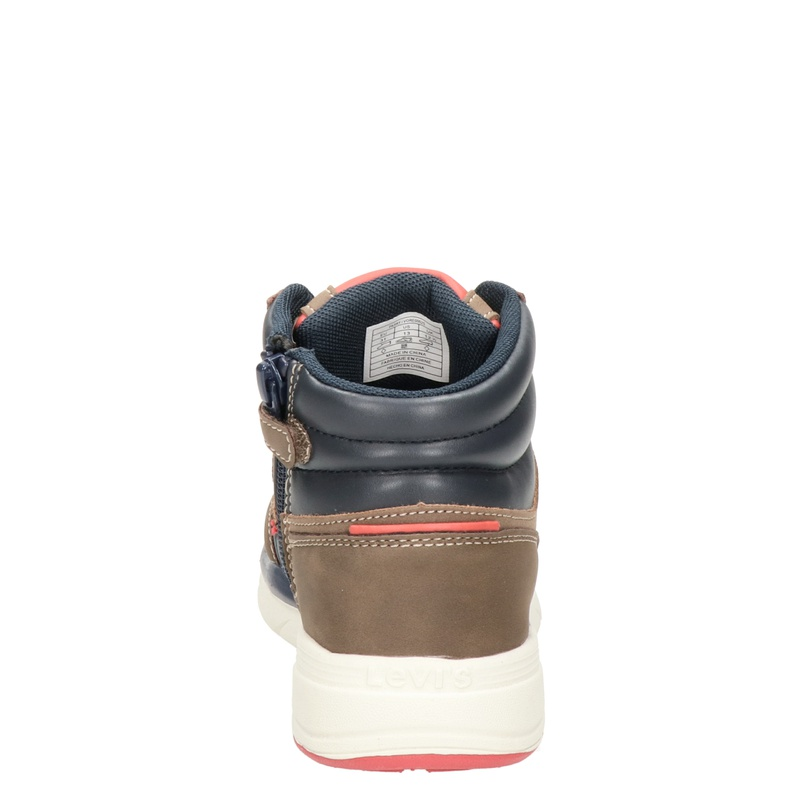Levi's Parry Mid - Hoge sneakers - Blauw