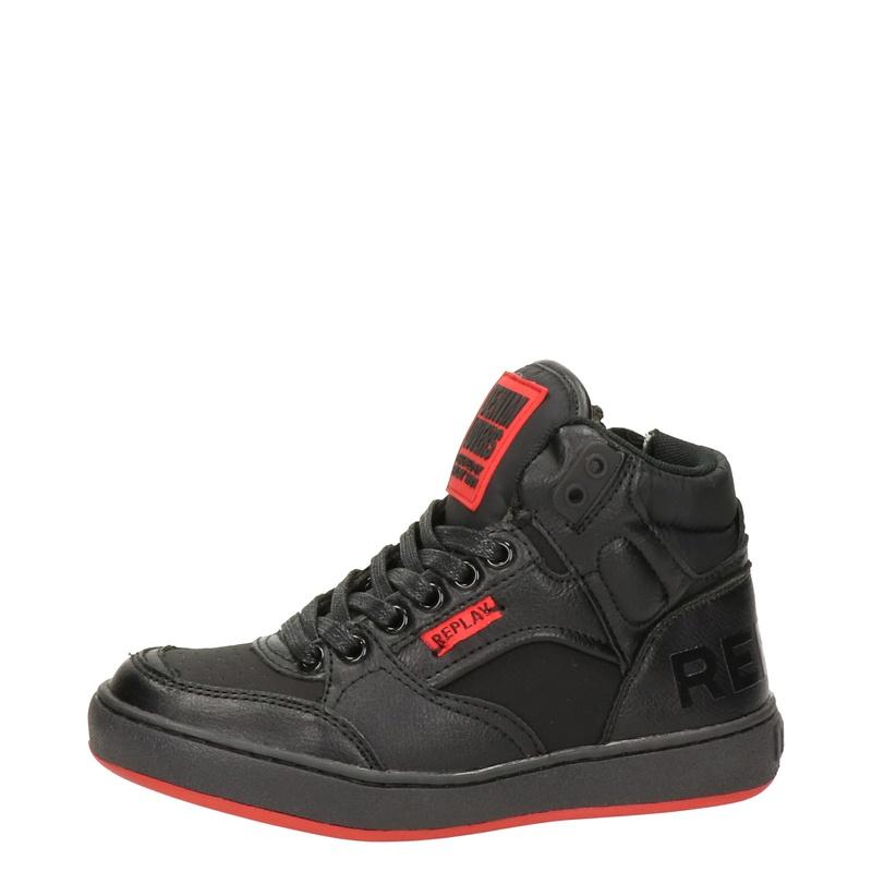 Replay - Hoge sneakers - Zwart