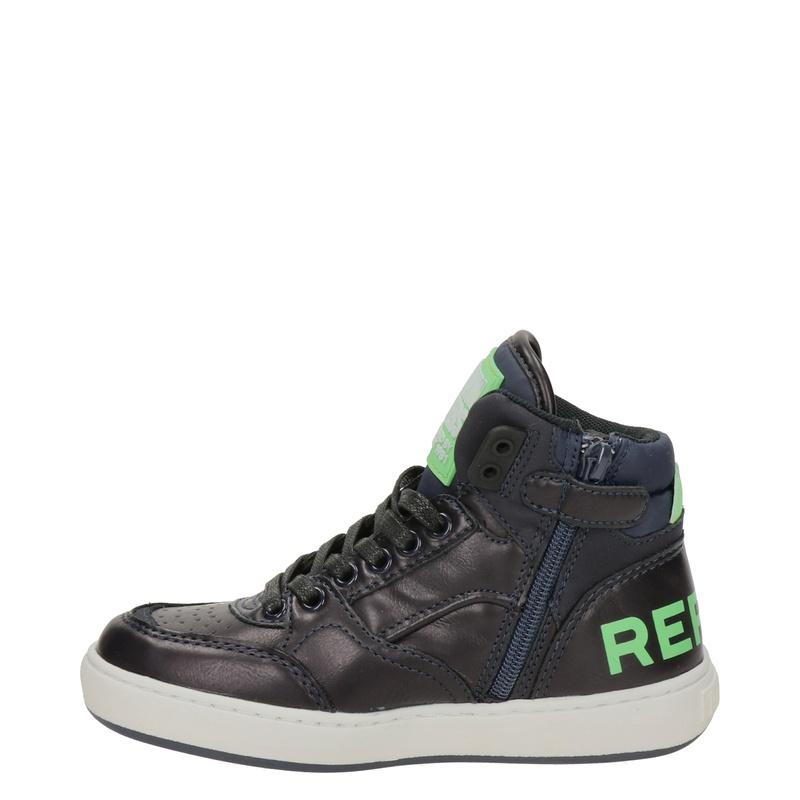 Replay - Hoge sneakers - Blauw