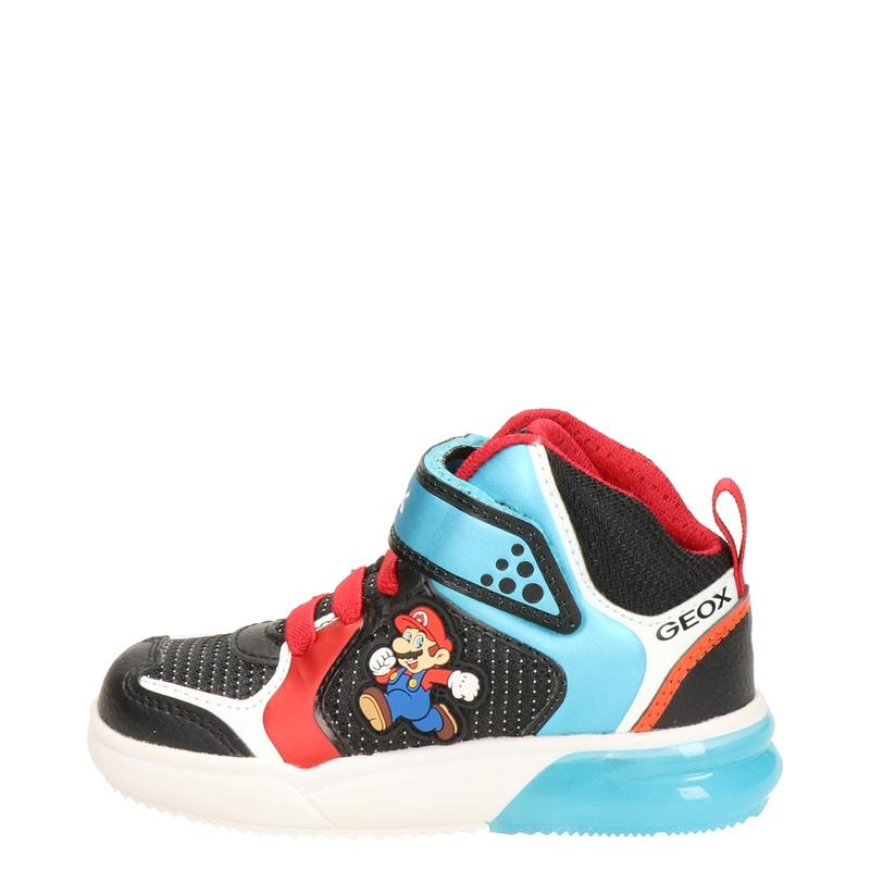 Geox Gray Jay - Hoge sneakers - Zwart