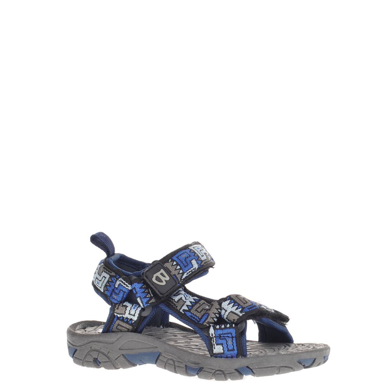 Brakkies Kinderschoenen.Brakkies Jongens Sandalen Blauw