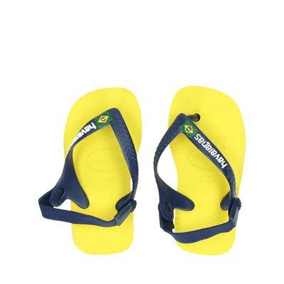 Havaianas jongens sandalen geel