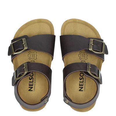 Nelson Kids jongens sandalen bruin