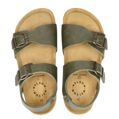 Orange Babies jongens sandalen groen