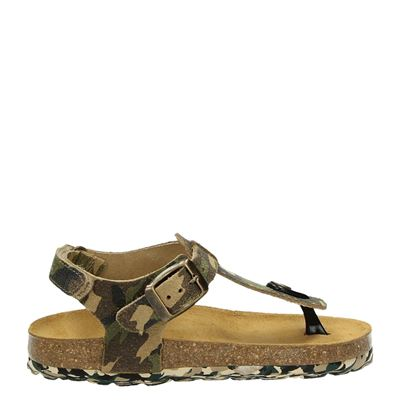 Develab jongens sandalen groen