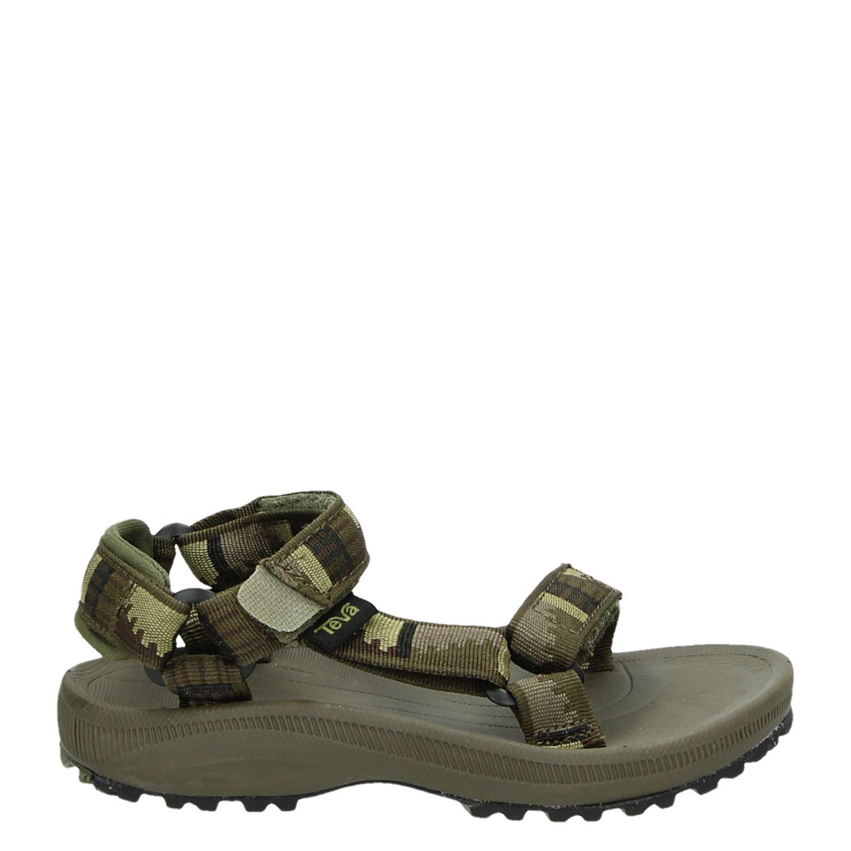 website voor korting brede variëteiten details voor Teva Hurricane2 jongens sandalen groen