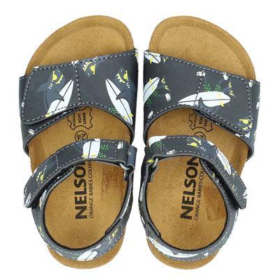 Orange Babies jongens sandalen grijs
