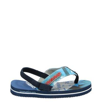 Vingino jongens slippers blauw