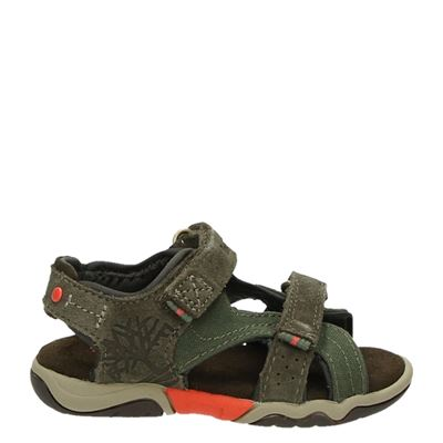 Timberland jongens sandalen groen