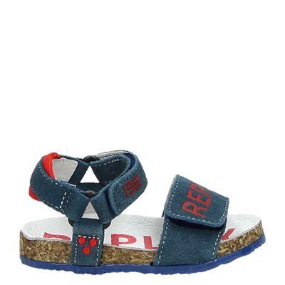 Replay jongens sandalen blauw