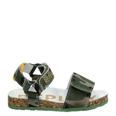 Replay jongens sandalen groen