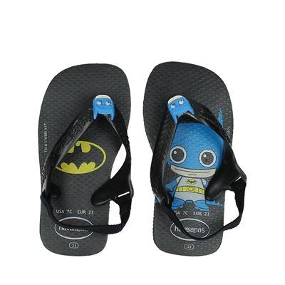 Havaianas jongens slippers zwart